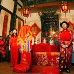 ประเพณีการแต่งงานของคนจีน