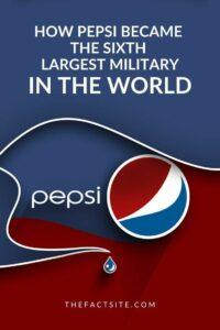 เป้ปซี่ : กองทัพใหญ่ที่สุดลำดับหกของโลก