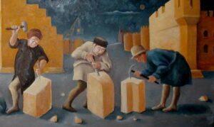 ปีเตอร์ ดรัคเกอร์ : ช่างตัดหินสามคน